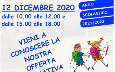 Poster open day primaria 1